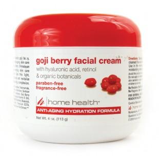 Крем за лице с Годжи Бери и хиалуронова киселина - Home Health 113 g.